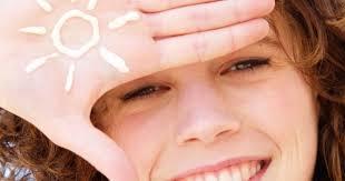 soins peau visage en été